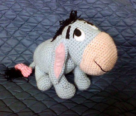 Eeyore Amigurumi Doll Crochet Pattern