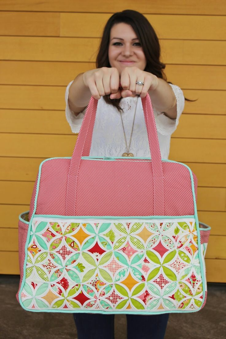 Sew In Love Quilting: Sewvivor Challenge #2 - Quilted Bag