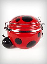 lady bug canister