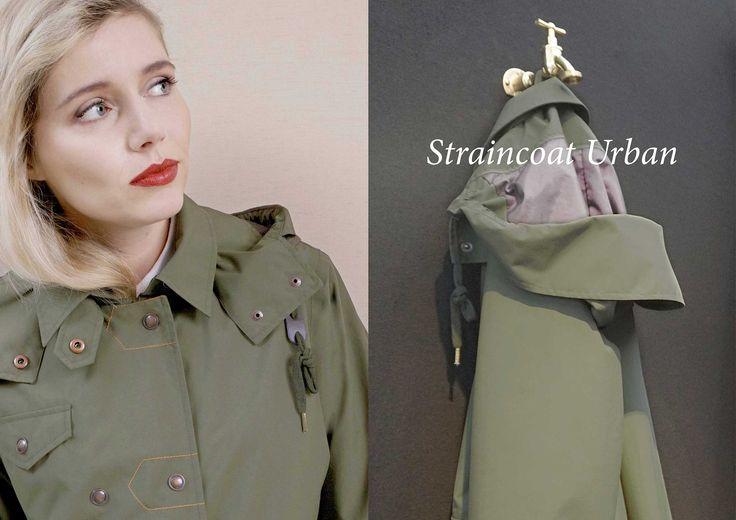 WATERDICHT Amsterdam   Straincoat Urban, stylish raincoat