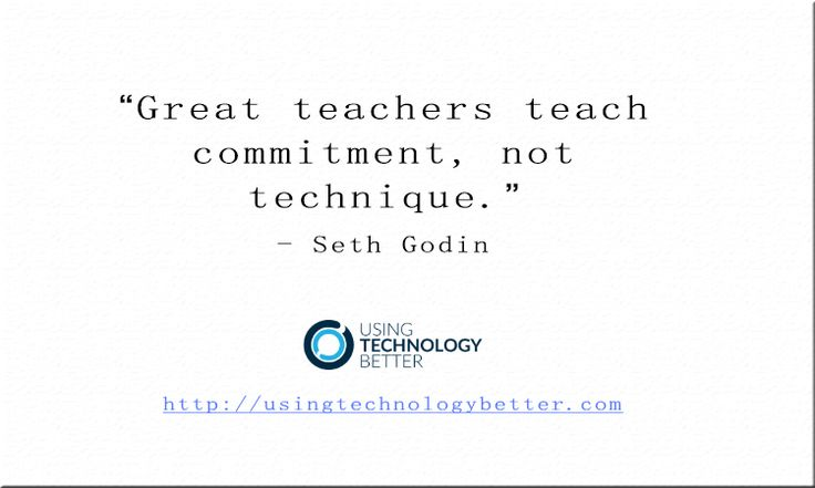 #Teaching is about being #committed to #students. #quote #edtech #ACTLearn #edtechchat #usetechbetter