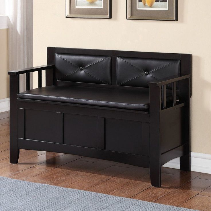 Carlton Padded Bench [ID 2257243] #Linon #Contemporary