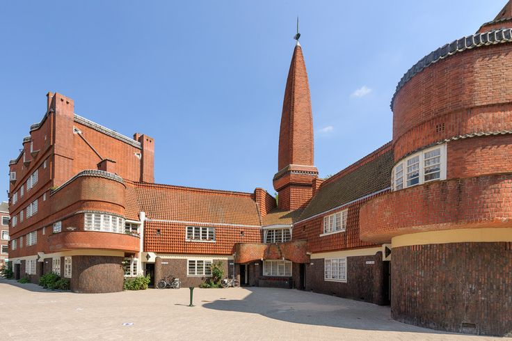 The ship, Amsterdamse school