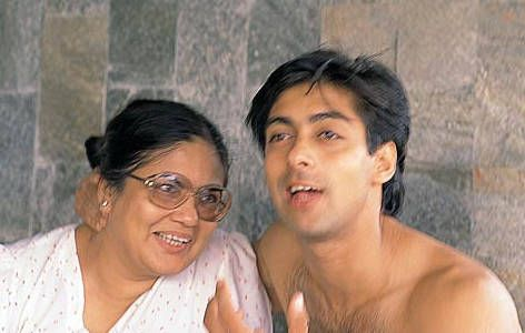 Khan family: Salman Khan with mother Salma | itimes