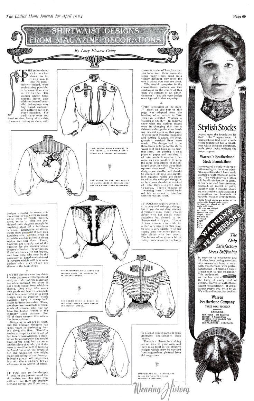 Shirtwaists 1904