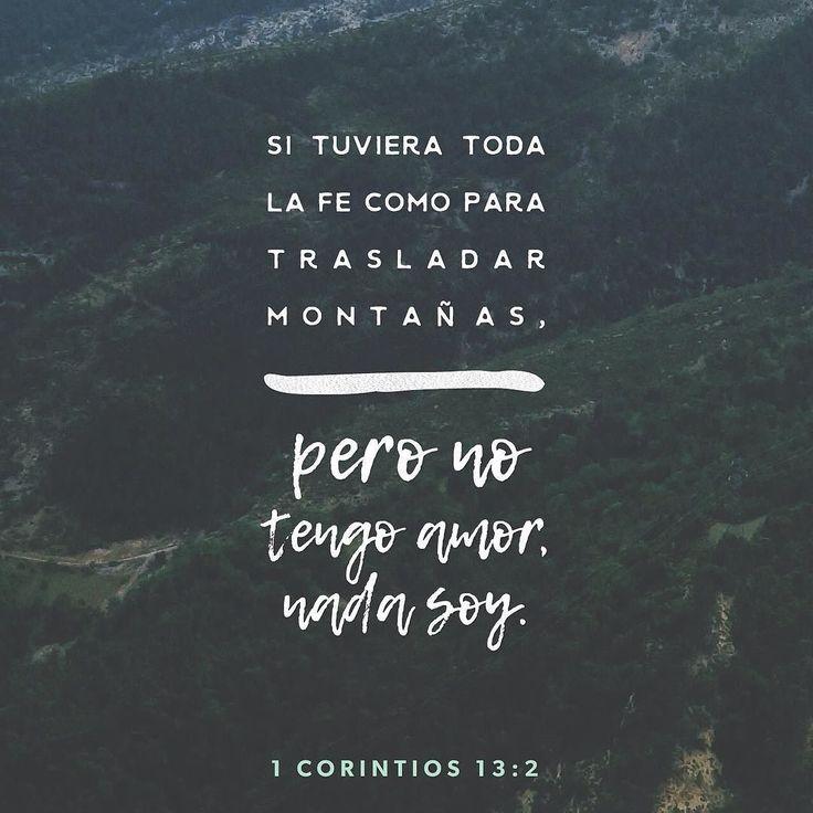 Si no tengo amor de nada me sirve hablar de parte de Dios y conocer sus planes secretos. De nada me sirve que mi confianza en Dios me haga mover montañas. 1 Corintios 13:2 @youversion @ibvcp #buenosdias #islademargarita #venezuela