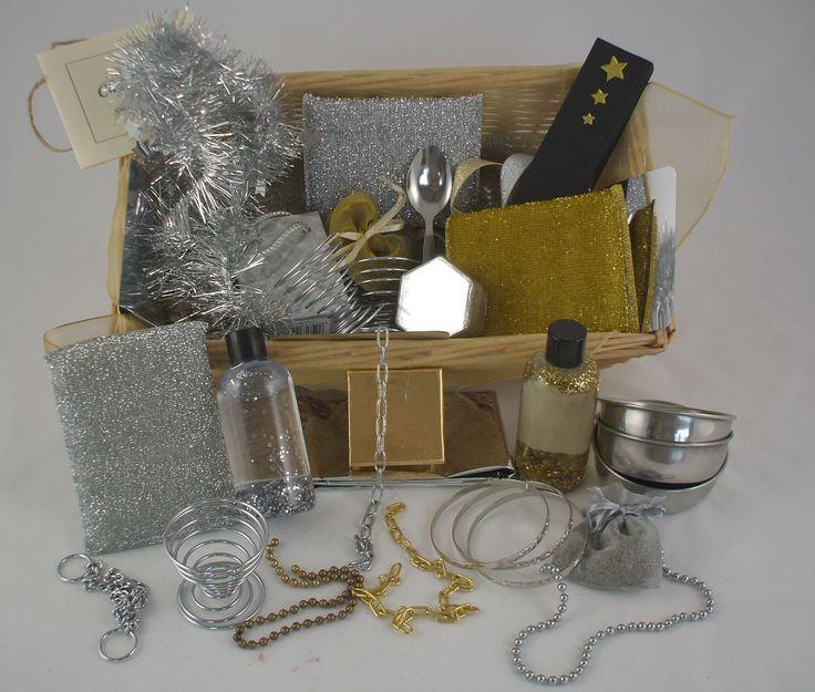 Shiny Objects Treasure Basket | heuristic play