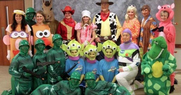 Toy Story | Kostüm-Idee für Gruppen zu Karneval, Halloween & Fasching