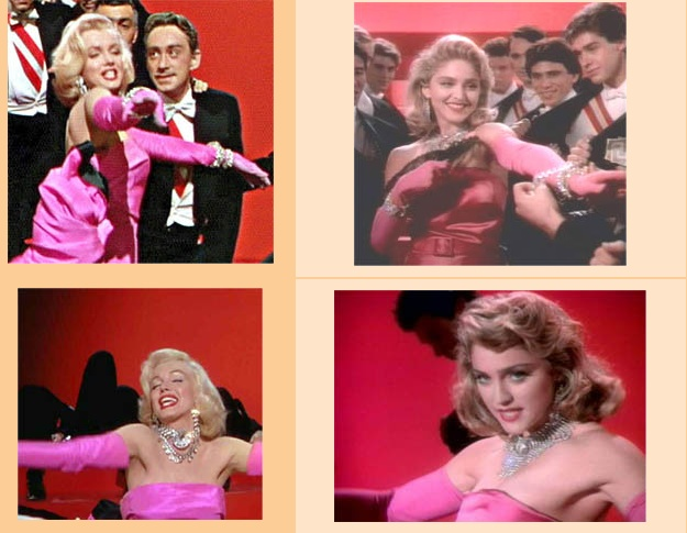 Marilyn Monroe & Madonna
