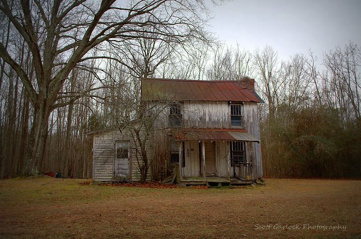 """""""This Will Do"""" Considered inadequate by most in today's society, this little wooden home in Person County, NC was more than sufficient for some hardy souls back in the day. (2014)  For more photos please check out my page at Scott Garlock Photography https://www.facebook.com/scottgarlockabandoned and if you like what you see, I sure would appreciate a good old fashioned """"Page Like"""" Thank you - Scott"""