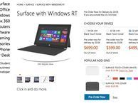 Microsoft Surface pricing to undercut Apple's iPad Microsoft has unveiled the pricing for its Surface RT tablet and it's set to undercut the equivalent iPad by $100