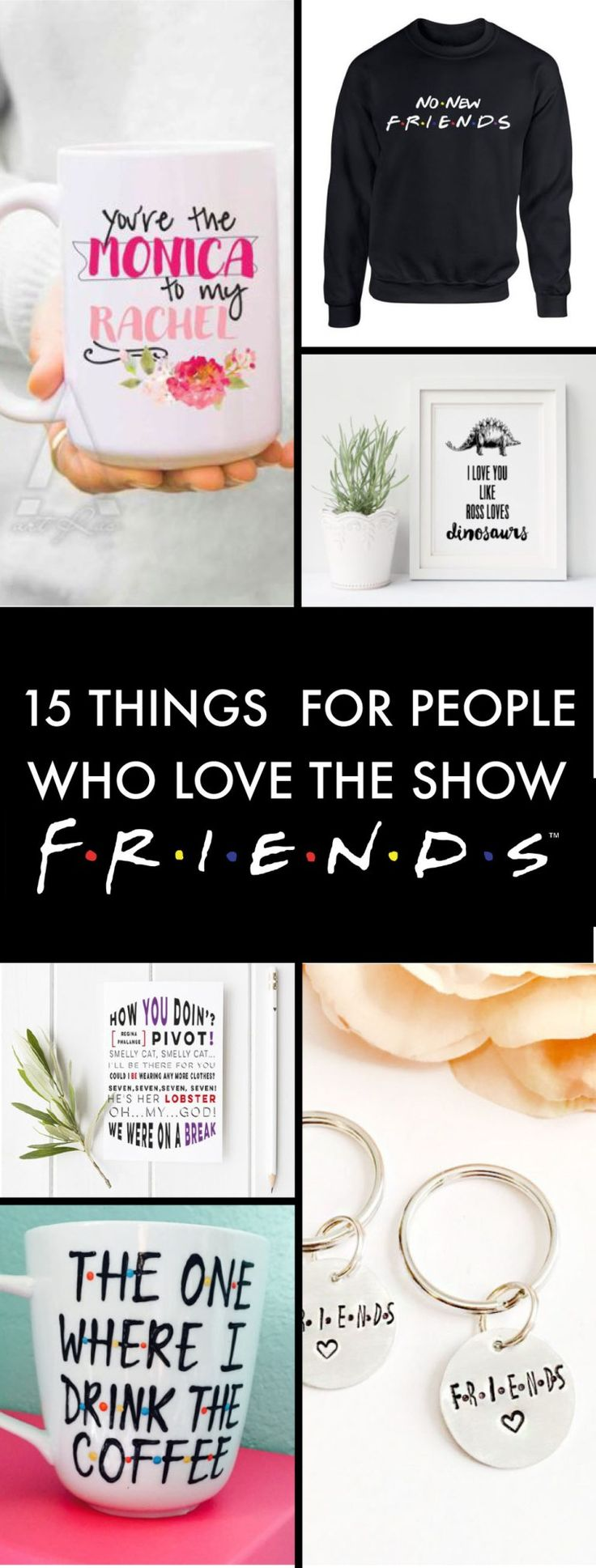 15 Friends TV Show Gift Ideas For The Obsessed Fans
