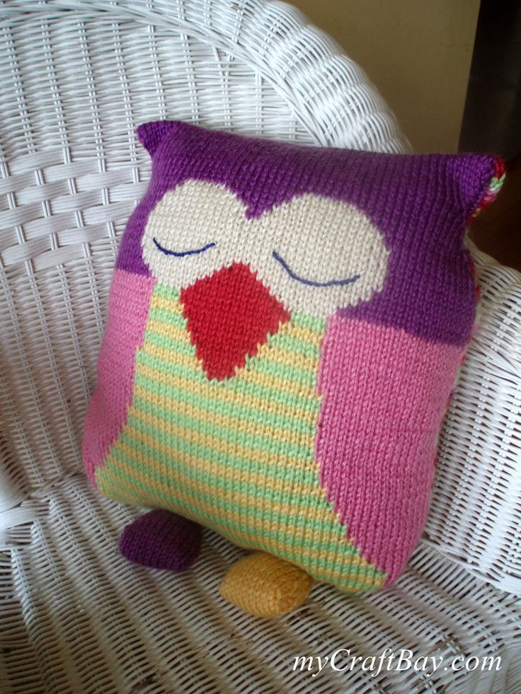 1000+ ideas about Knitted Owl on Pinterest Crocheted owls, Owl patterns and...