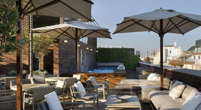 Terraza Hotel Omm...para tomar un mojito - Rosselló 265, Barcelona
