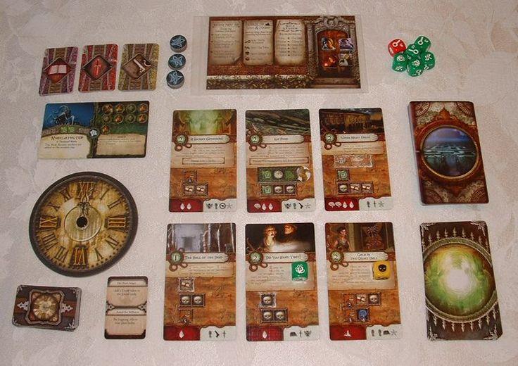 Review: Elder Sign, fantasy board game