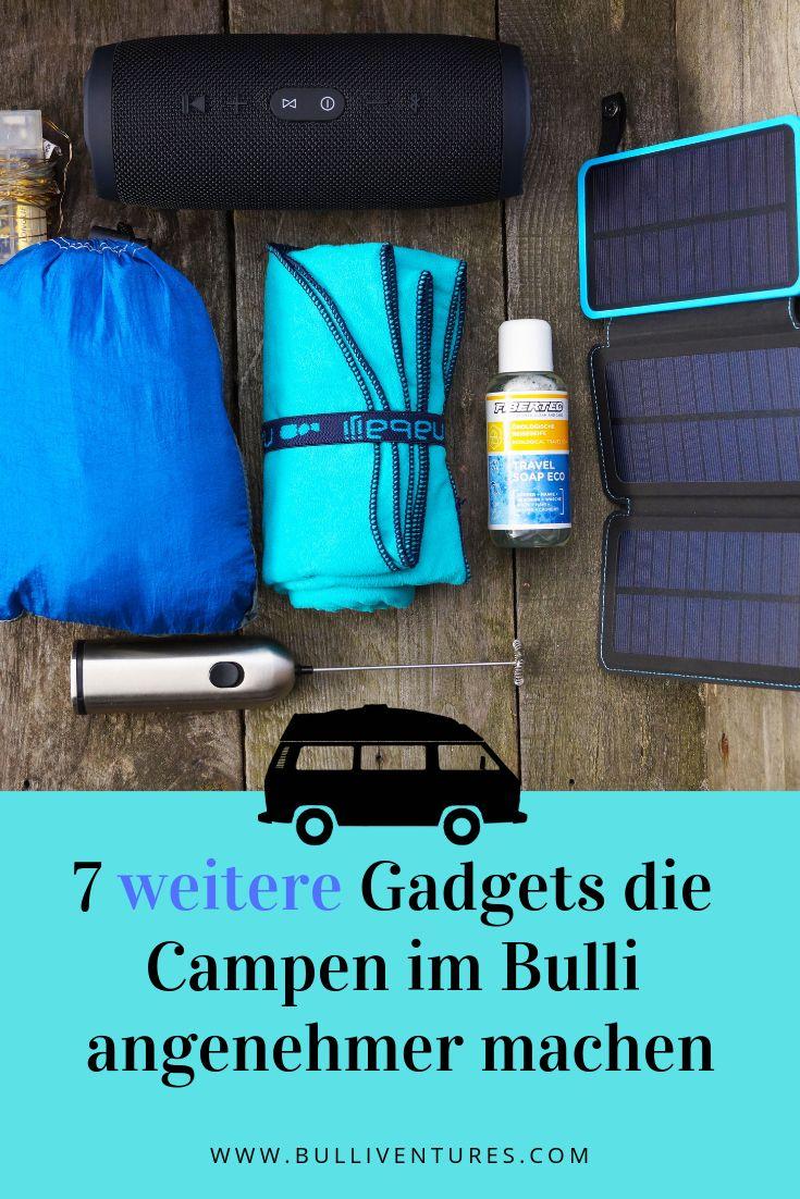 7 weitere Gadgets die das Campen im Bulli angenehmer machen