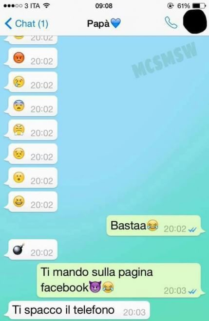 """Si chiama """"Mamme che scrivono messaggi su Whatsapp"""" ed è la pagina Facebook che, come suggerisce il titolo, raccoglie, giocando con l'ironia, tutti gli scambi di messaggi più divertenti, stravaganti e irriverenti tra genitori e figli. Un modo per sorridere sulle differenze generazionali quando genit…"""