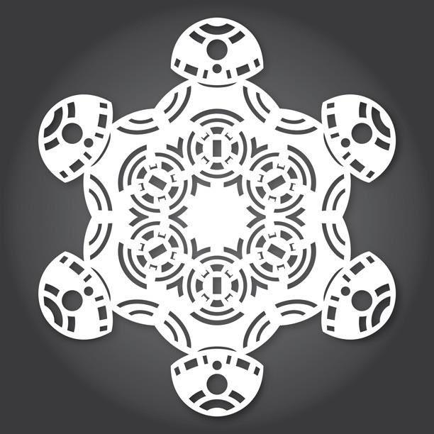54 best Snowflake Patterns! images on Pinterest Snowflake - snowflake template