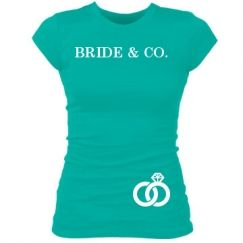 This website has the best shirts and tanks for bachelorette parties ♥
