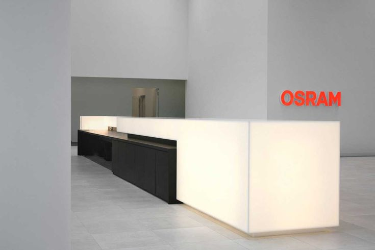 HI-MACS® ilumina la sede central de OSRAM en Múnich
