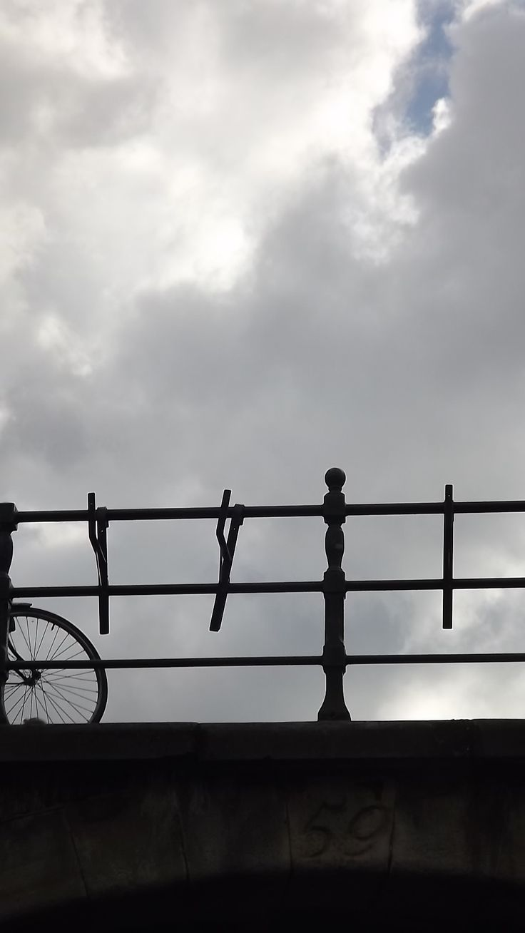 bike and bridge - Amsterdam