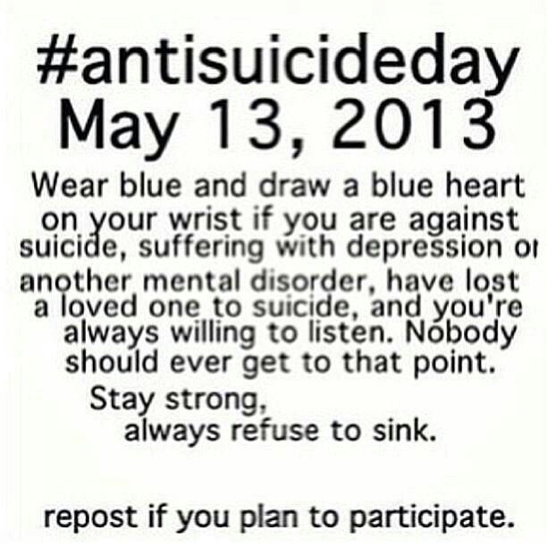 Self Harm Awareness: Im Still Going To Do It Even Though This Day Already