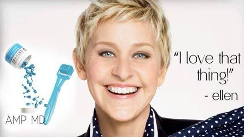 Ellen DeGeneres tried our Rodan and Fields roller and loved it! Contact me if you want to try it too!  http://tracyeanderson.myrandf.com
