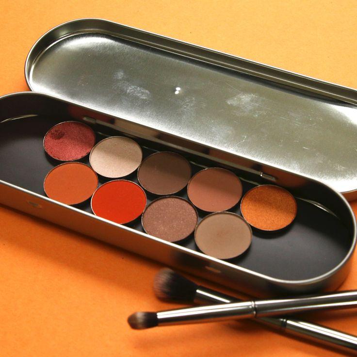 DIY Magnetic Makeup Palette