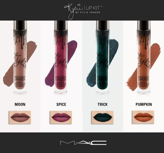 Kylie Cosmetics October Lip Kit for The Sims 4
