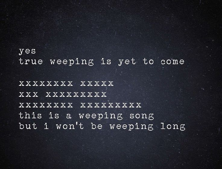 By RPP - The Nick Cave Typewriter on Instagram: The Weeping Song, The Good Son