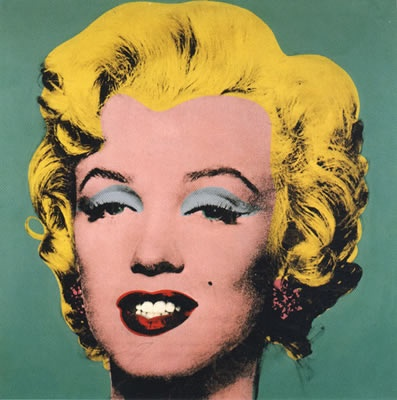 Marilyn Monroe, pop art, Andy Warhol