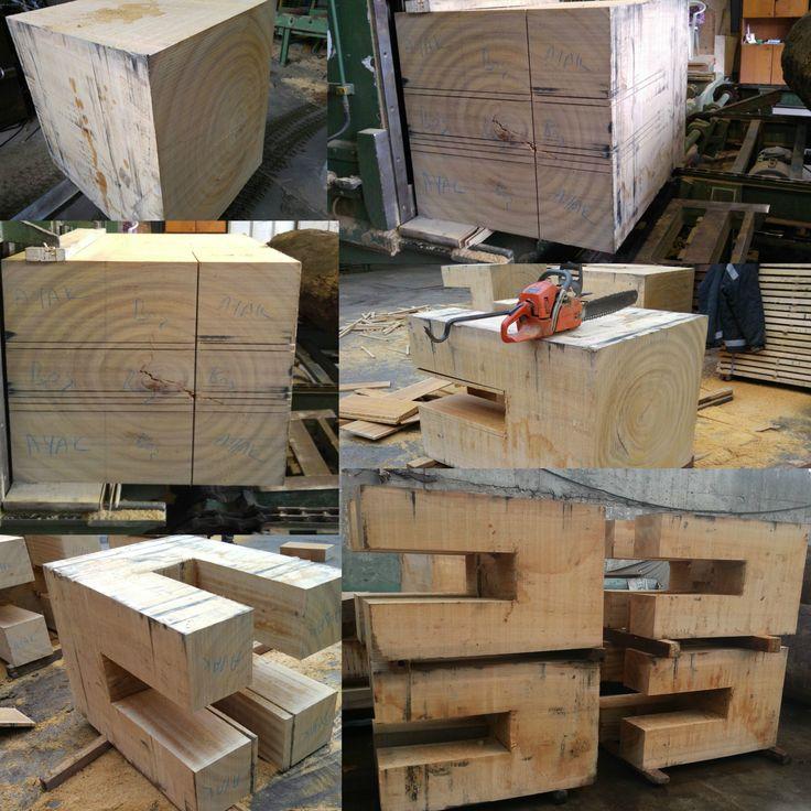 Slab Table, Wood Slab. Özel Bir Restoran Projesi Için Dahoma Ağacından  ürettiğimiz Masalar. Www.bahartimber.com