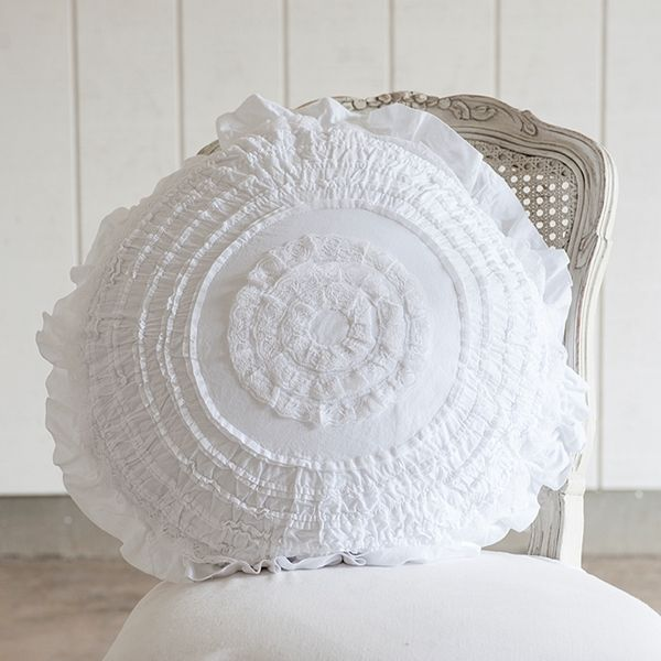Rachel Ashwell Shabby Chic Pillows : 1000+ images about Pillows on Pinterest White pillows, Pillow covers and Ruffle pillow