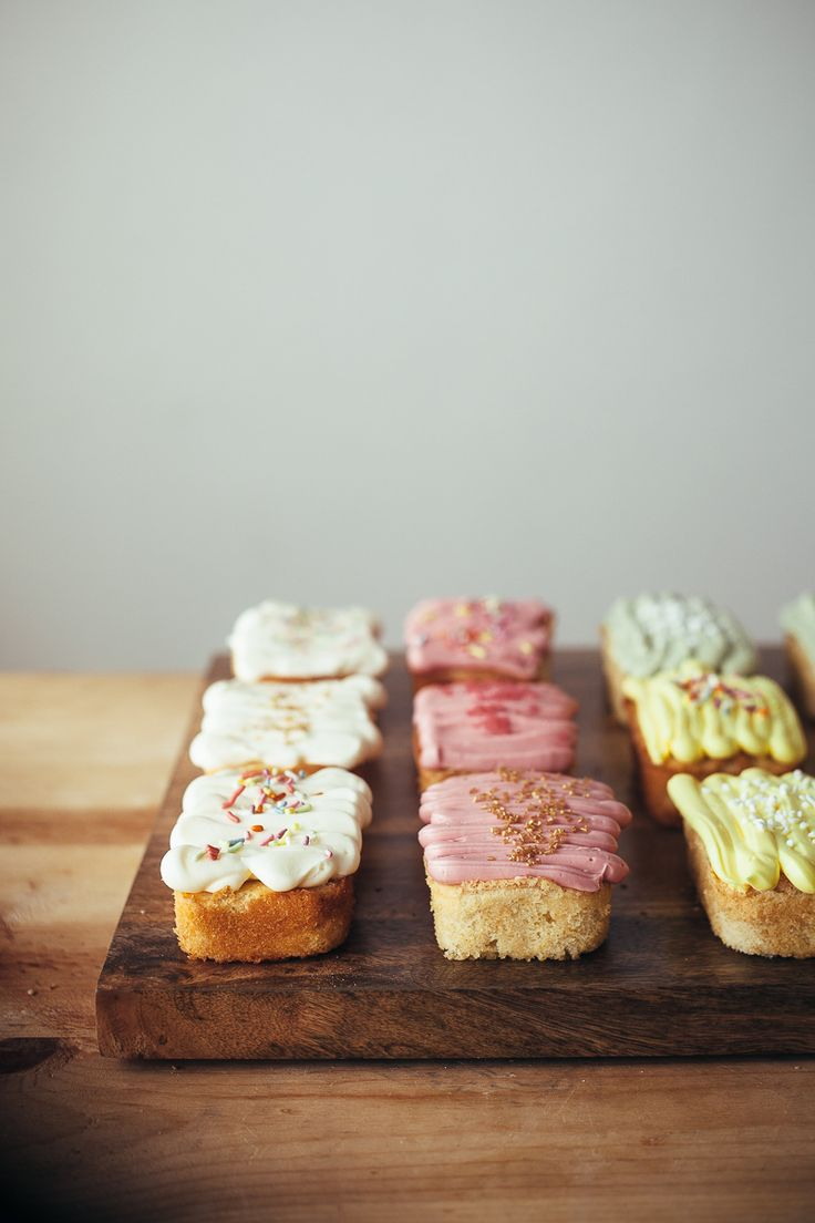 Mini vanilla loaf cakes | My name is Yeh