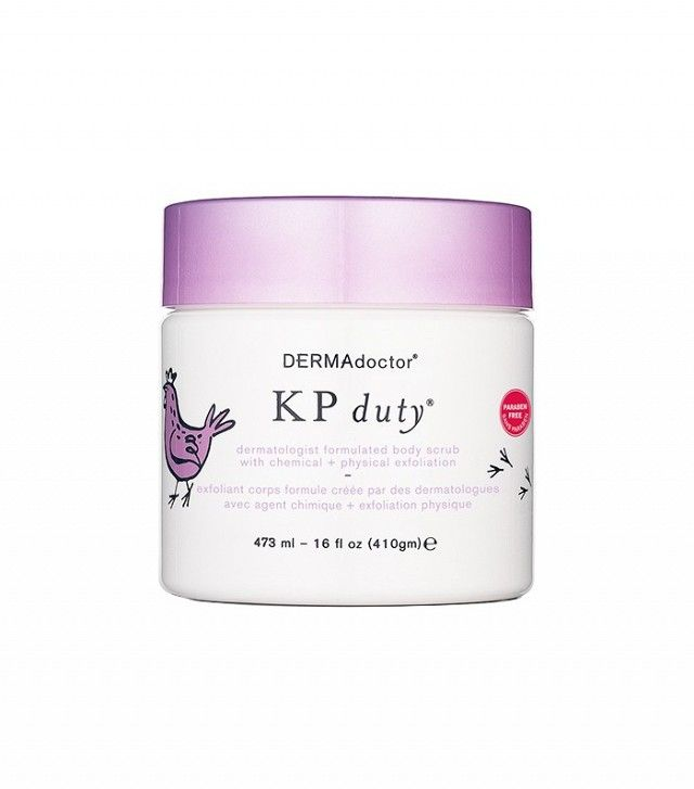 Beauty Editors Sound Off on the Products That Changed Their Lives | Byrdie. DermAdoctor KP Duty Body Scrub ($46)