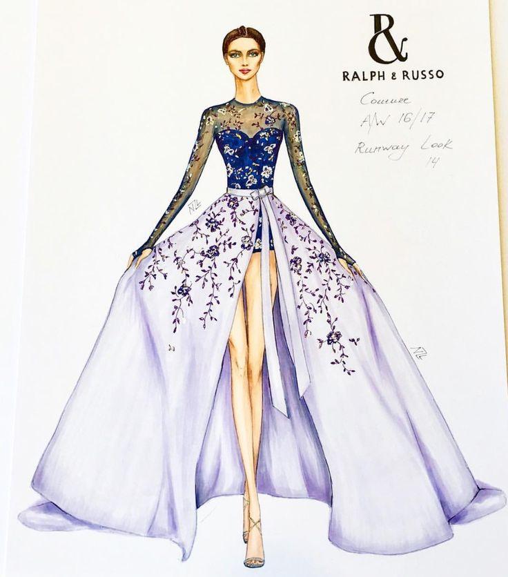 Sketches Of Dresses On Models Www Pixshark Com Images