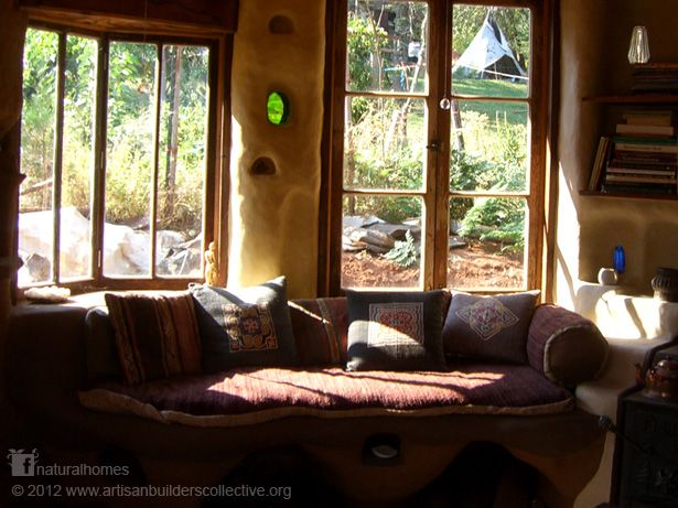 This is one of a collection of six beautiful interiors of cob homes around the world at www.naturalhomes.org/cob-interiors.htm