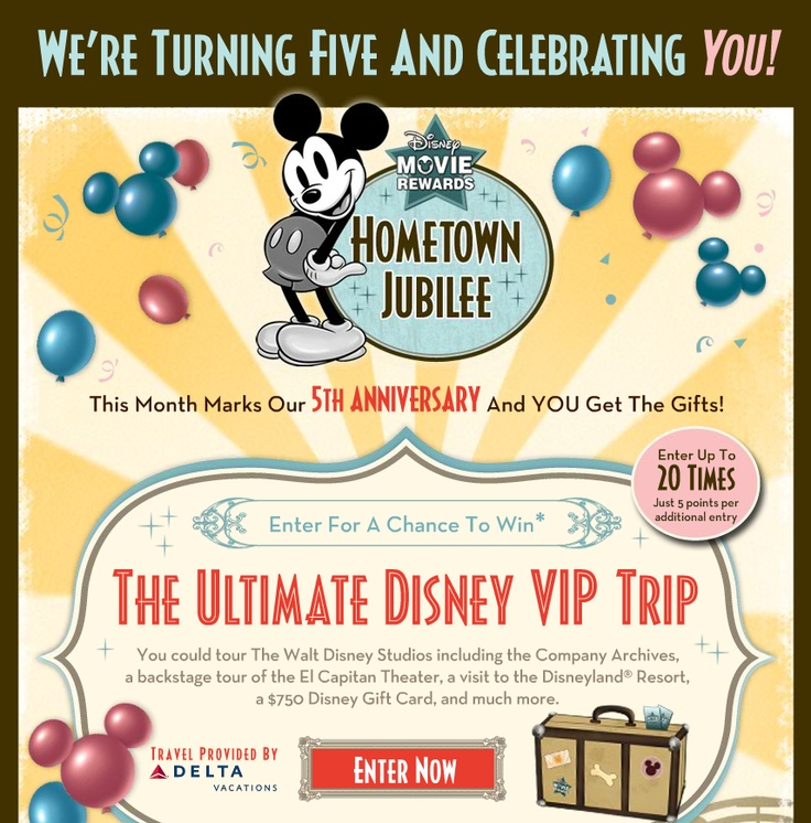 "Theme: Accessibility. Email from Disney - Appeals to a broad audience from adults to children. Colors and characters are accessible, not ""too much"" cartooning."