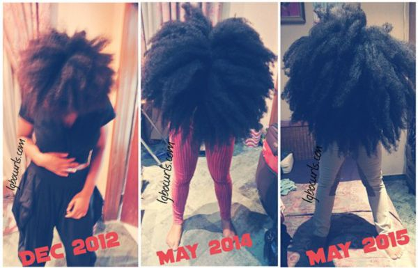 15 Inspiring Natural Hair Growth Journeys