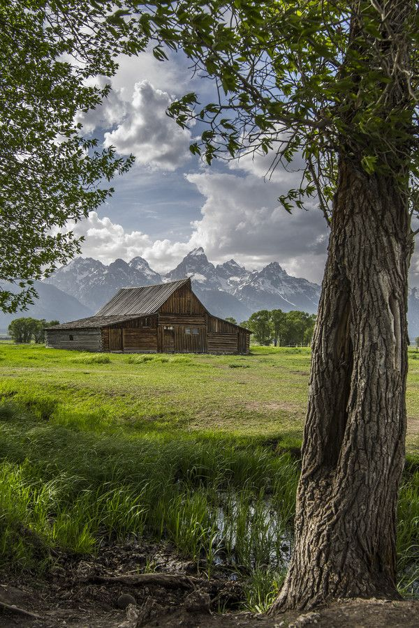 Barn, Grand Teton National Park, Wyoming