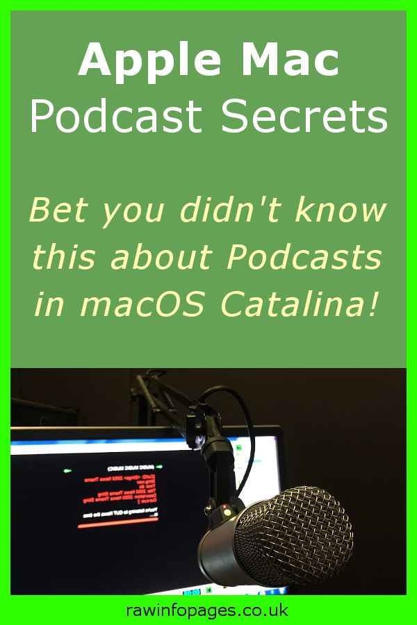 How to customize and tweak the Podcasts app in macOS