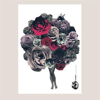 den blomstrande Sommaren affisch - Lisa Bengtsson
