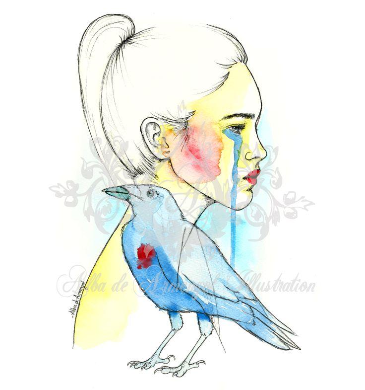 alba de armengol illustration watercolor