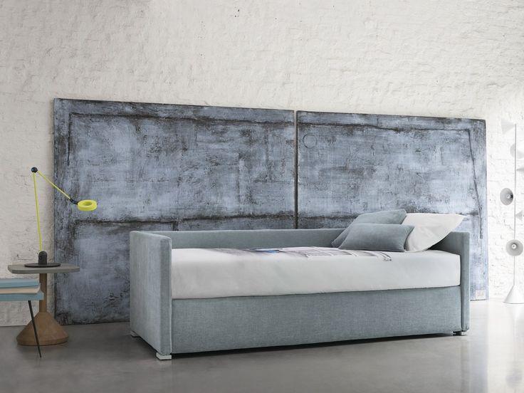 Wandelbares Einzelbett BISS by Flou Design Pinuccio Borgonovo