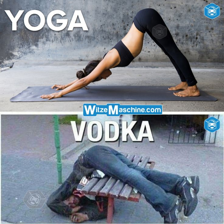 Verwechslung - Yoga Vodka - Russen Witze - WitzeMaschine