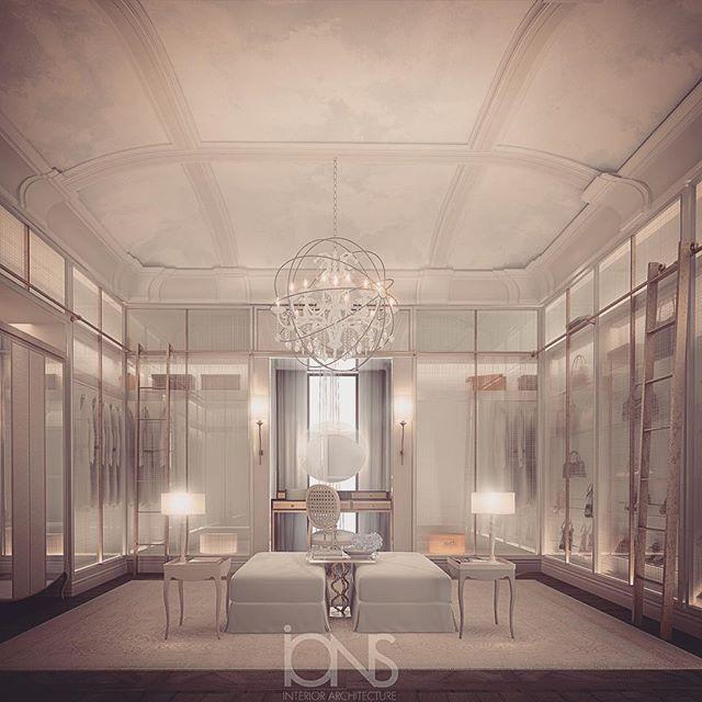 Our Latest Dressing Room Design Private Residence Dubai Uae Abudhabi دبي السعودية ديكو Luxury Home Decor Interior Design Career Walk In Closet Design