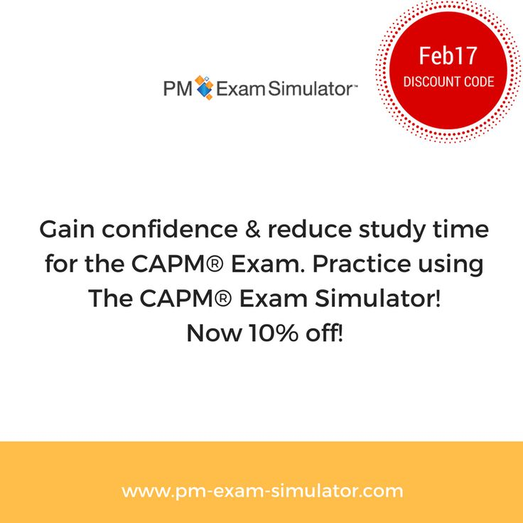 10 best pmp courses images on pinterest pmp exam project limited offer capm exam simulator discount simply use discount code feb17 projectmanager fandeluxe Gallery