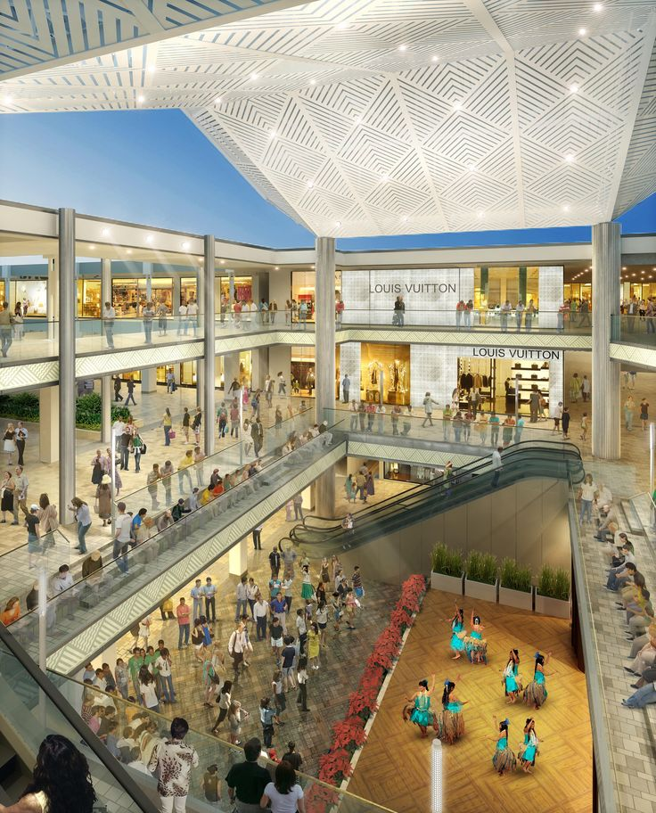Ala Moana Center Hawaii Ceilings By Plus