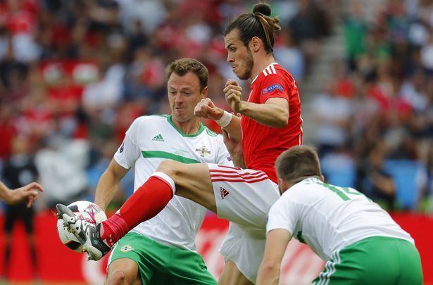Gareth Bale was well shackled for much of the game but created the winner
