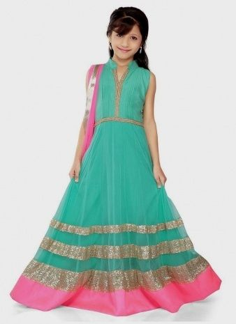 Indian Gowns For Kids